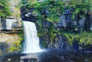 Ingleton Waterfall trails