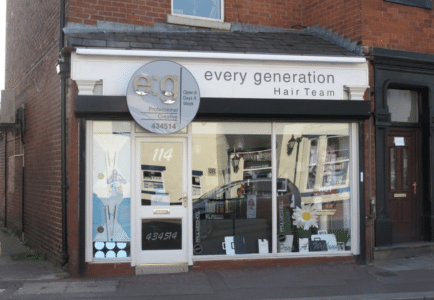 Every Generation Hear Team Shop Front