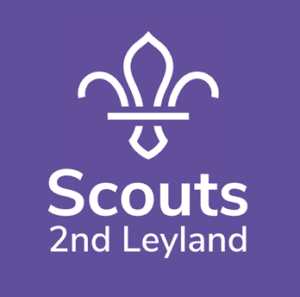 Leyland 2nd Scouts Logo