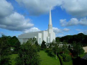 Mormon Temple Chorley
