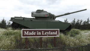 The Centurion Tank Leyland
