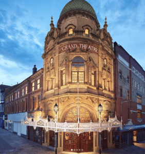 The Grand Theatre Blackpool front view