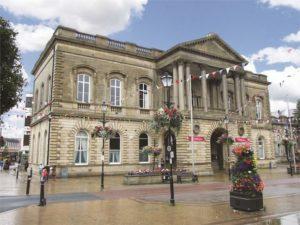 Accrington Town Hall Landmark