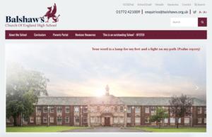 Balshaw's CE High School