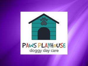 Paws Playhouse Doggy Day Care Logo