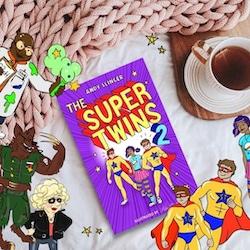 Lancashire Author Andy Slinger - Super Twins 2